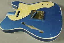 MJT Official Custom Order Vintage Nitro Double Bound Guitar Body VTL Mark Jenny