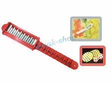 CUTTER TOOL DEVICE KNIFE FOR CURLY MESH MAKING FOR VEGETABLES, POTATOES, CHEESE