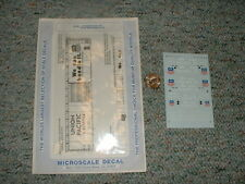Microscale  decals N 60-468 Union Pacific 50' 86' plug and sliding door  F85