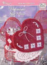 Valentine Gift Box  ~   Plastic Canvas Pattern  ~   TNS