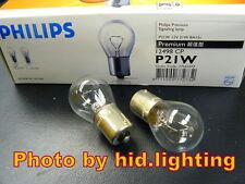 Genuine Philips 12V 21W Signal Light P21W BA15s 12498 bulb brake lamp turn