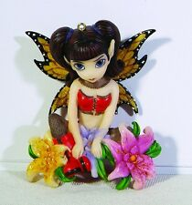 JASMINE BECKET-GRIFFITH.FISHNET & FLOWER FAIRY FIGURINE
