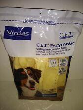 Virbac C.E.T. Enzymatic Oral Hygiene Chews Xtra LG 51 +lbs 30 chews Ex 6/22