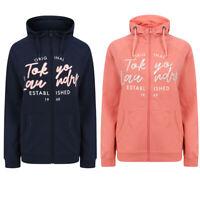 Tokyo Laundry Womens Forna Zip Up Hooded Top Hoody Hoodie Sweater Sweatshirt New