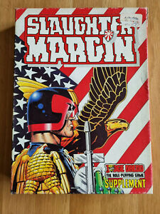 GAMES WORKSHOP - Judge Dredd: Slaughter Margin Supplement 1987