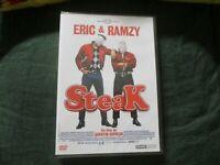 """DVD NEUF """"STEAK"""" Eric JUDOR & Ramzy BEDIA"""
