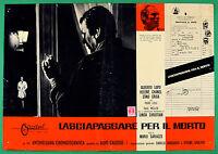 T64 Fotobusta Pass für die Toten Alberto Wolf Helene Chanel Erno Charles