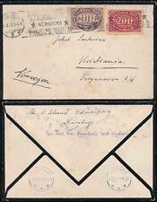 George V (1910-1936) German & Colonies Cover Stamps
