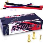 Fantom Octane 5500mah 130C 7.4v Pro Drag Shorty Lipo Battery FAN26240 and wiring