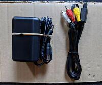 BRAND NEW 3-in-1 Super Nintendo/SNES Power Supply and AV Cable/TV Hookups