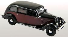 NOREV 1:43 AUTO PEUGEOT 401 LONGUE TAXI 1935 ROSSO SCURO E NERO  ART 474104