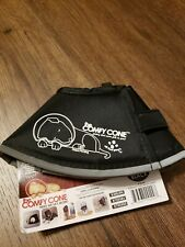 Comfy Cone The Original, Soft Pet Recovery Collar, Size XSmall Black