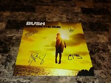 Bush RARE Band Signed Man On The Run Limited Edition Vinyl LP Set Gavin Rossdale