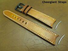 Rolex Sea Dweller Santoni leather strap curved lug end watch strap 勞力士圓弧型錶耳牛皮錶帶