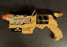 Power Rangers Deluxe Dino Charge Morpher Blaster Yellow. Fast shipping! Works!