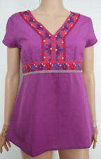 Monsoon Cotton Embroidered Tops & Shirts for Women