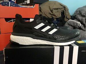Adidas Energy Boost   Men's Size 12.5    Black/White Running CG3359 Ultra Boost