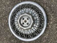 """1983 -1990 Lincoln Town Car  15"""" Wire SPOKE  Hubcap WHEEL COVER #5"""