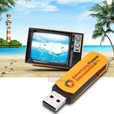 Multifunctional Golden USB Stick Worldwide Internet TV and Radio Player Dongle