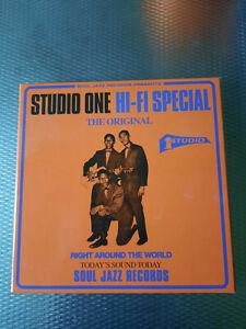 Studio One - Hi-Fi Special... 5xVinyl 7 Box - Soul Jazz Rec-lim.auf 500 Copies