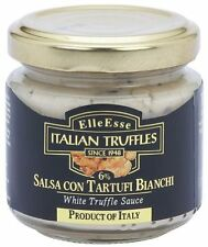 TRÜFFEL Salsa weiße Alba Trüffel Soße Salsa Tartufo Bianco aus ITALIEN 90g Glas