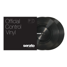 "10"" Serato Standard Colors (Pair) BLACK Control Vinyl"
