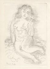 "Raoul Dufy ""Amphitrite"" original etching"