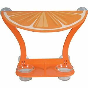 Orangeview Cafe Double Jelly Jar Oriole Feeder Suction Cup Window Mount