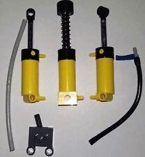 LEGO 8421 / 8275 / 8110 Technic Pneumatic Pumpe Stoßdämpfer Wegeumschalter