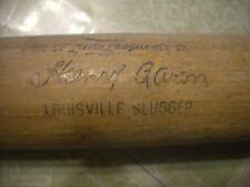 "29"" LOUISVILLE SLUGGER  HENRY (HANK) AARON BASEBALL BAT #125LL, EX-, L@@K!!"