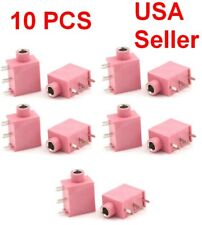 10pcs 3.5mm Female Stereo Audio Socket Headphone 5 Pin PCB Mount jack connector