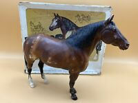 "Vintage Breyer Molding Co. USA, ""Adios"", Standardbred Sire with Box"