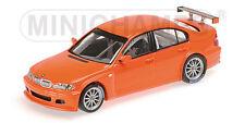 Minichamps 400052400 BMW 320I - STREETVERSION - 2005 - ORANGE 1:43  #NEU in OVP