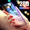20D Curved Edge Tempered Glass Screen Protector Film For iPhone 11 Pro Max Xs 8