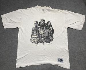 Vintage Star Wars Shirt Mens Extra Large The Phantom Menace Episode 1 T Adult