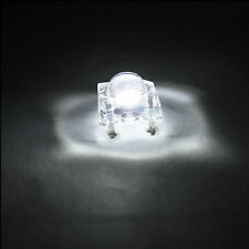 50 pcs 5mm Piranha Super Flux LED Light Bulb Sign Car Lights 25000 mcd White