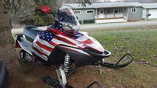POLARIS IQ RMK SHIFT DRAGON assault graphics DECAL STICKER american flag