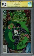 Green Lantern #v3 #51 CGC 9.6 Ron Marz Signature Series (W)