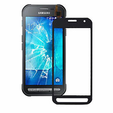 VETRO + TOUCH SCREEN per SAMSUNG GALAXY XCOVER 3 SM-G388F NERO DISPLAY VETRINO