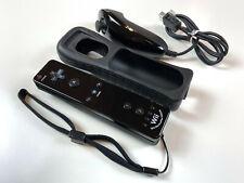 Nintendo Wii U original Remote Controller Motion Plus schwarz RVL-036 + Nunchuk