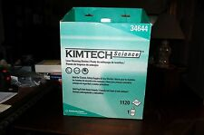 KIMBERLY CLARK 34644 KIMTECH SCIENCE LENS CLEANING STATION 1120 WIPES 1 FORMULA