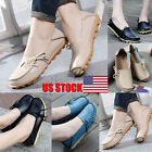 New Fashion Women Leather Shoes Loafers Soft Leisure Flats Female Casual Shoes