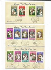 Jordan - 1966 Set of 14 on First day Covers - Christ's Passion