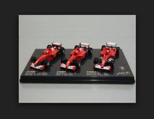 Ferrari F1-2000 + F2001 +F2002 M.Schumacher World Champion B7022 1/43 HotWheels