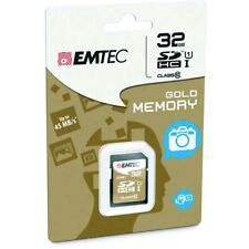 Emtec Memory SD Card 32GB Class 10 Read 45MB/s Write 14MB/s SDHC SDXC Mobile AT