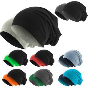 WOW MasterDis Jersey Beanie Reversible 2 Farben Mütze slouch hat Neu«