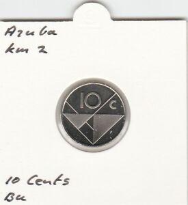 Aruba 10 cents 2003 BU - KM2