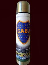 BOCA JUNIORS - Metal Thermos - 1 litro - Argentina Soccer - FOR MATE