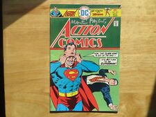 1975 VINTAGE DC ACTION COMICS SUPERMAN # 453 SIGNED BY MARTY PASKO, WITH POA
