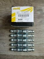 "QTY-10) Amflo Automotive/ Truflate Style Air Fitting Plugs to 1/4"" Male NPT #CP1"